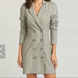 Show Me Your Mumu Blazer Dress